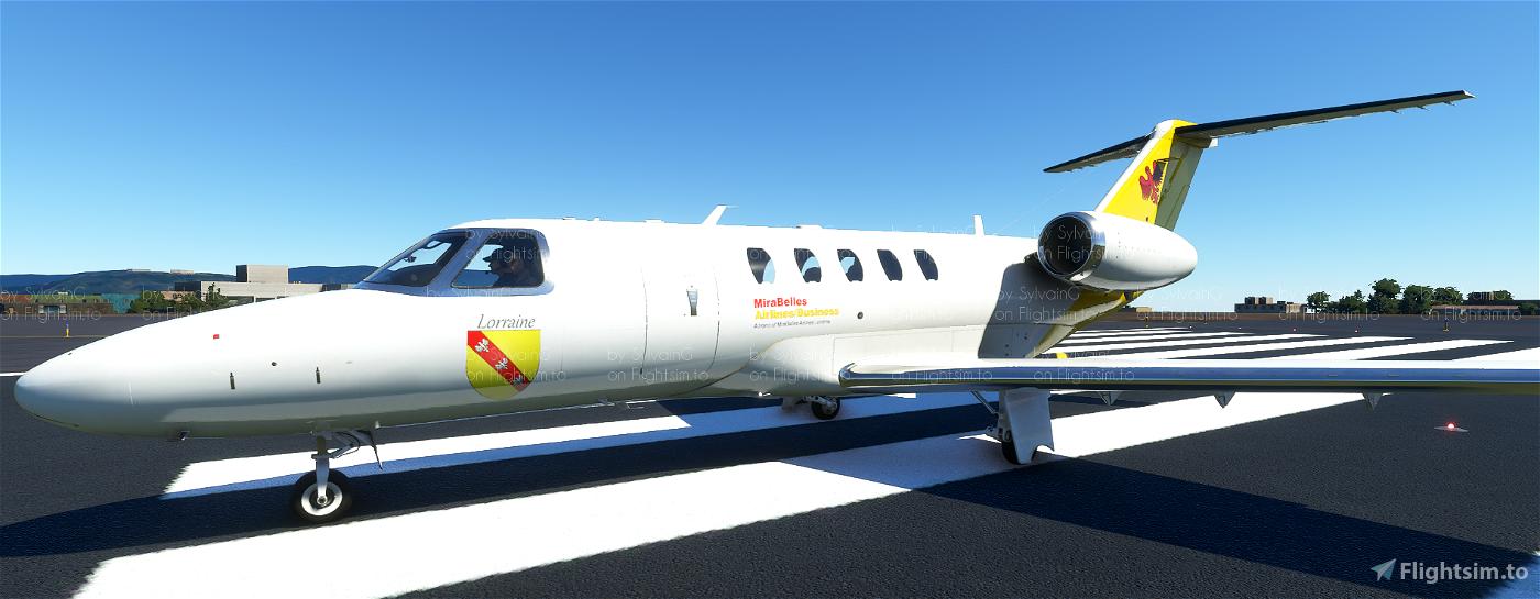 Cessna CJ4 Citation MiraBelles Airlines VA Flight Simulator 2020