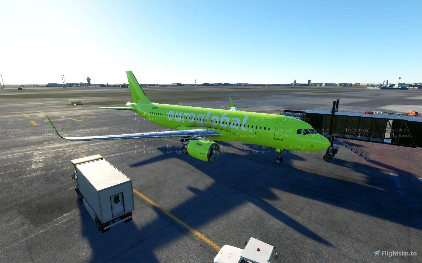 Euroglobal Livery pack Flight Simulator 2020