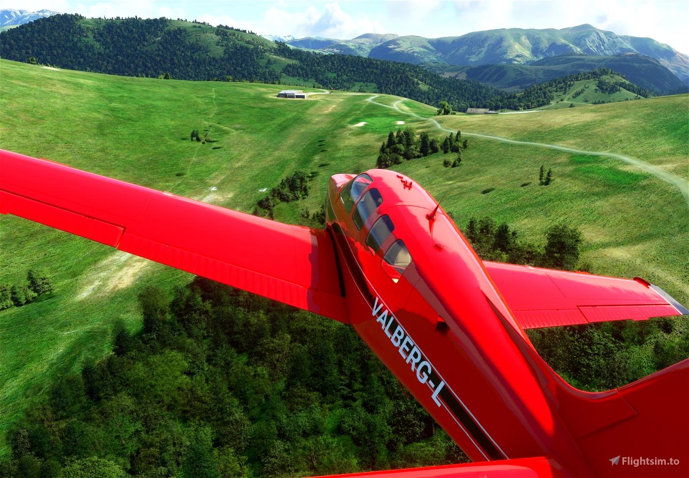 Altisurface LF0654 Valberg Flight Simulator 2020