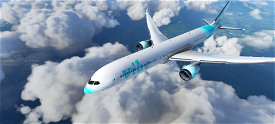B787 Vibe Virtual Airlines | 4K Image Flight Simulator 2020