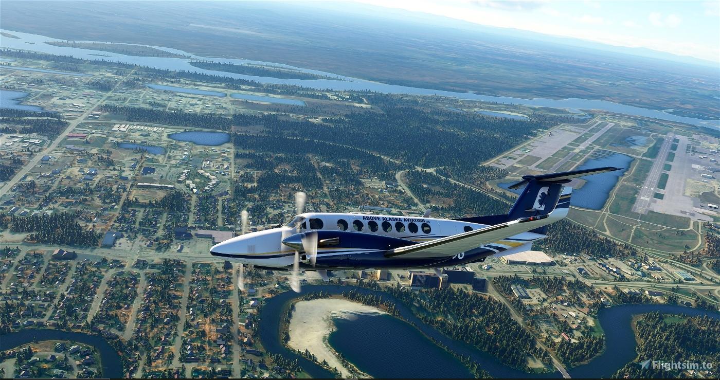 Above Alaska Aviation King Air 350