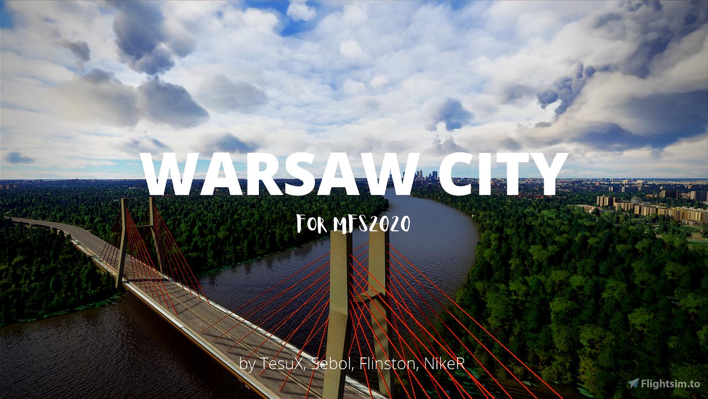 Warsaw City 2020 Flight Simulator 2020