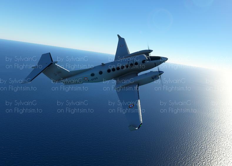KingAir350 CAE Aviation/French Air Force F-GYEE