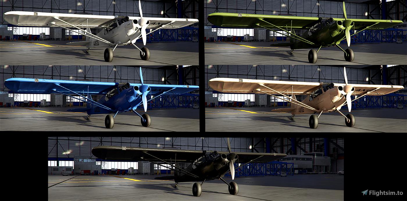 X-Cub Recon Pack Flight Simulator 2020