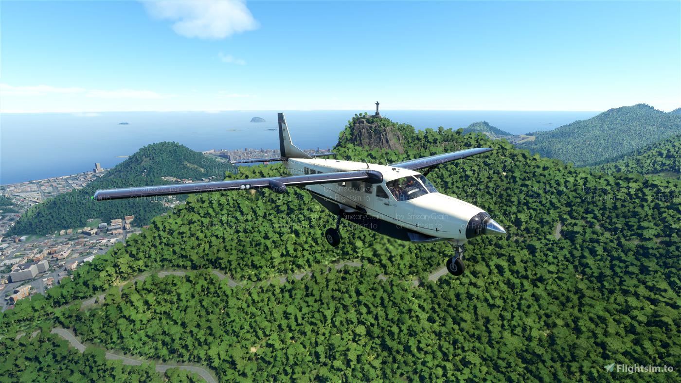 Cessna 208 B Grand Caravan X Series (8 colours)[v1.10.7.0 compliant]  Flight Simulator 2020
