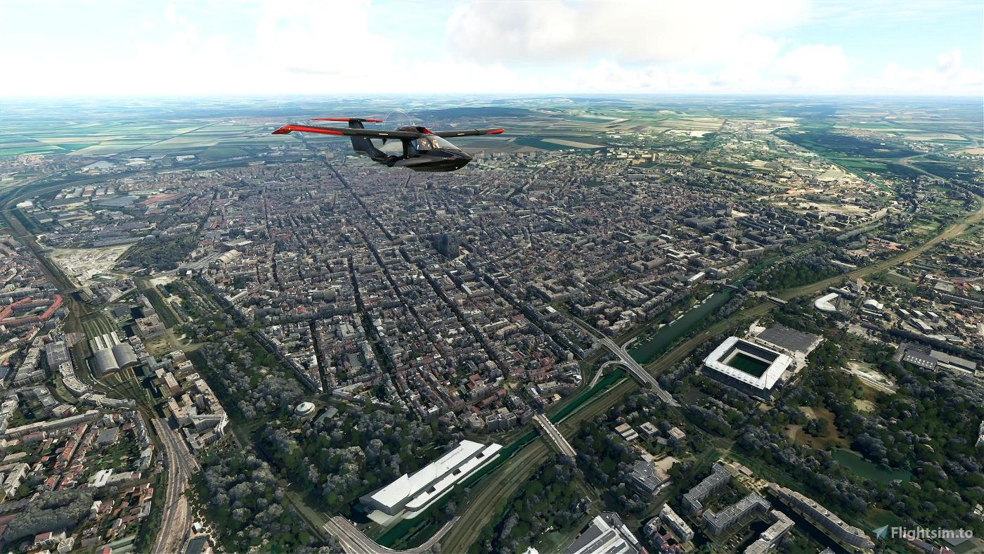 Reims City Flight Simulator 2020