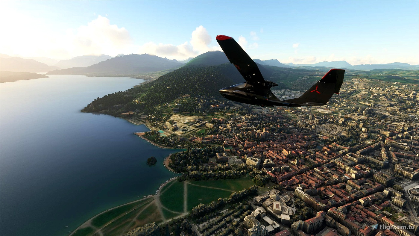 Annecy Flight Simulator 2020