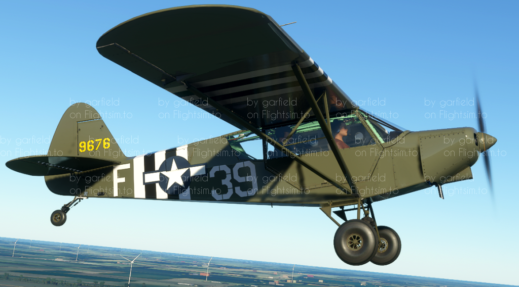Zlin Aviation Savage Cub US ARMY AIRFORCE