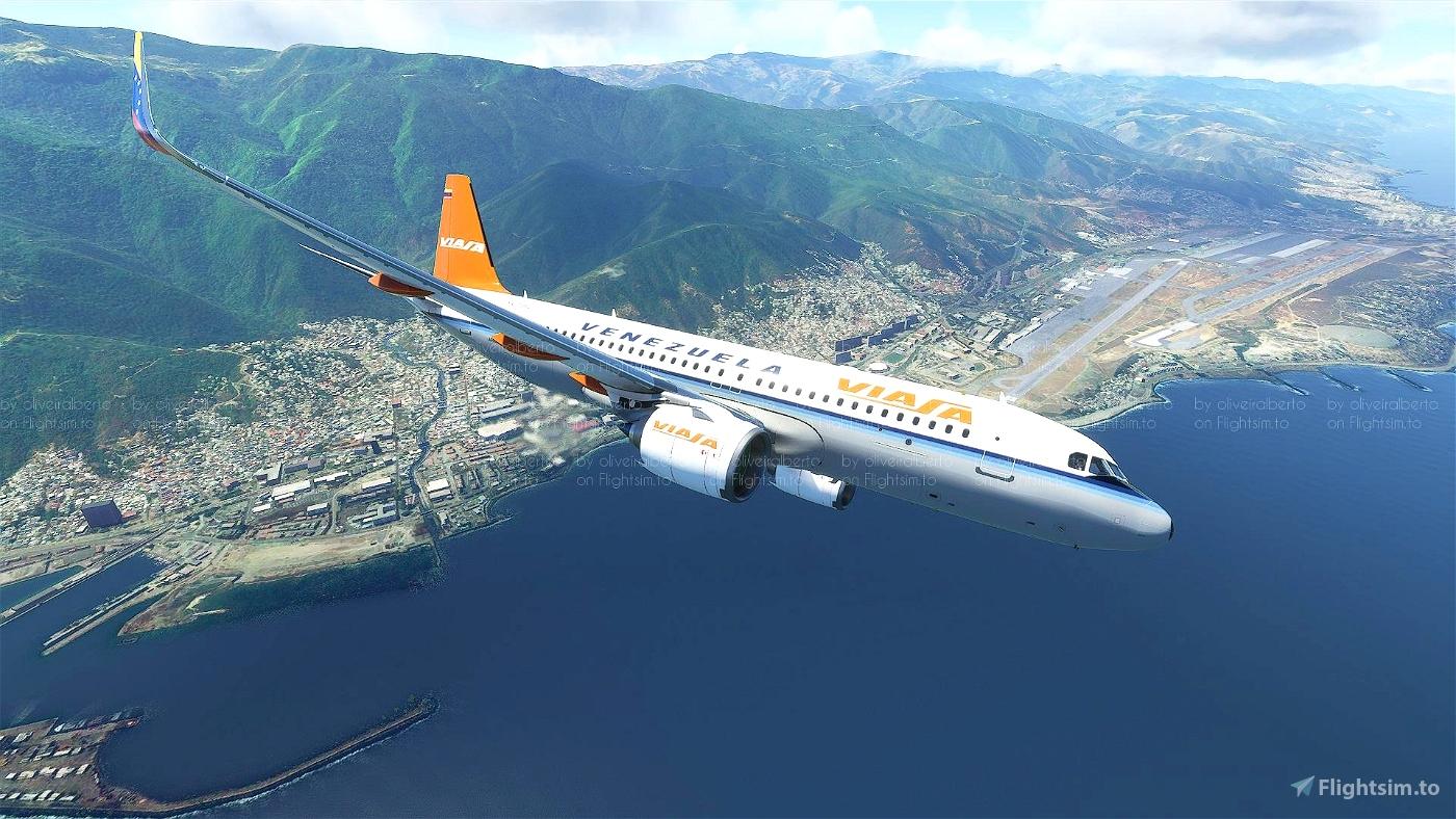 VIASA 8K Flight Simulator 2020