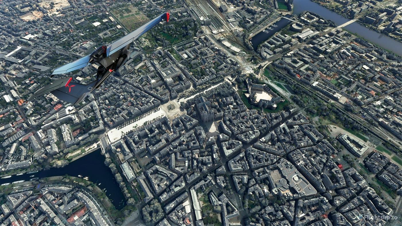 Nantes City Flight Simulator 2020