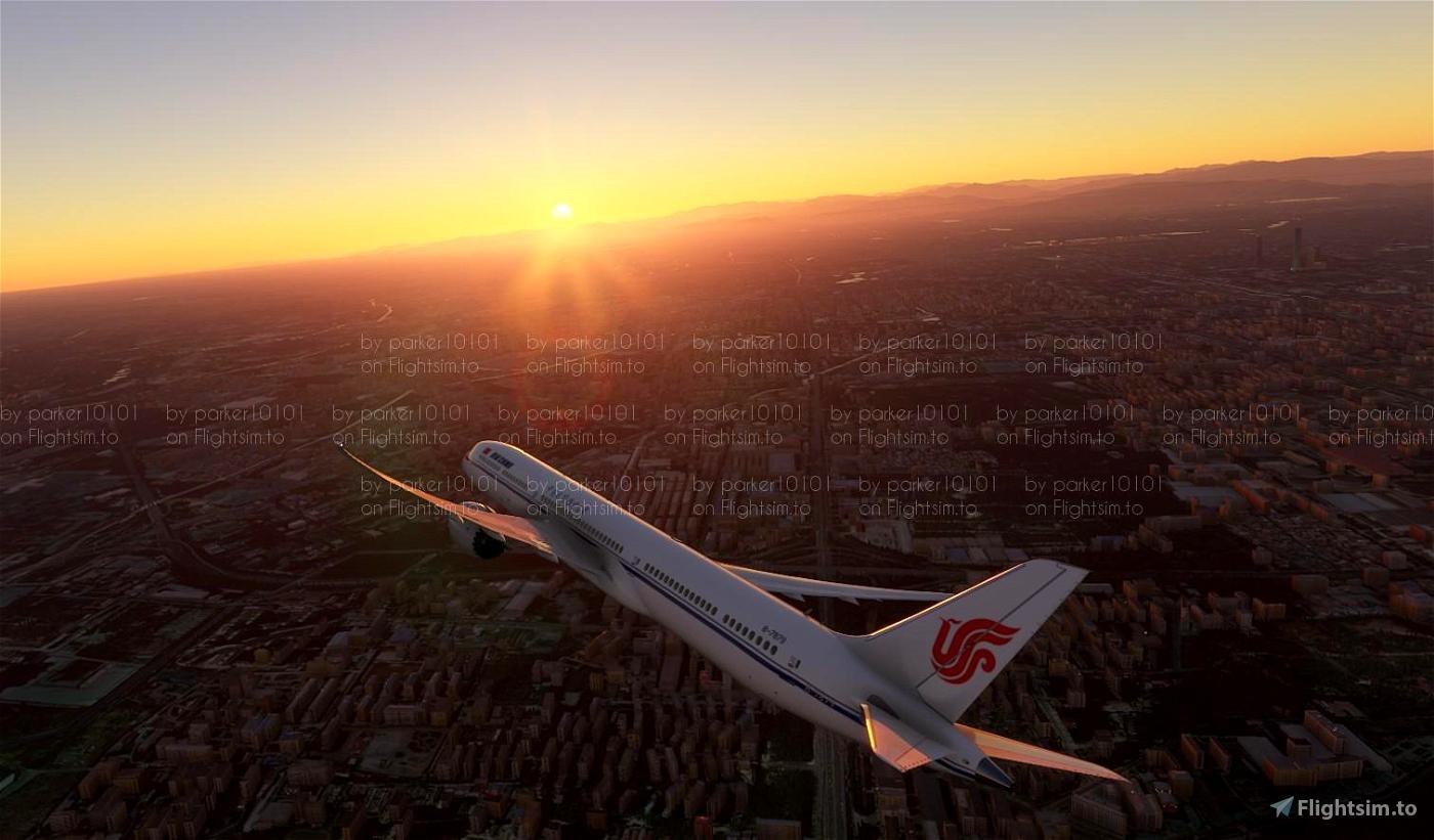B787-10 Air China B-7879 Flight Simulator 2020