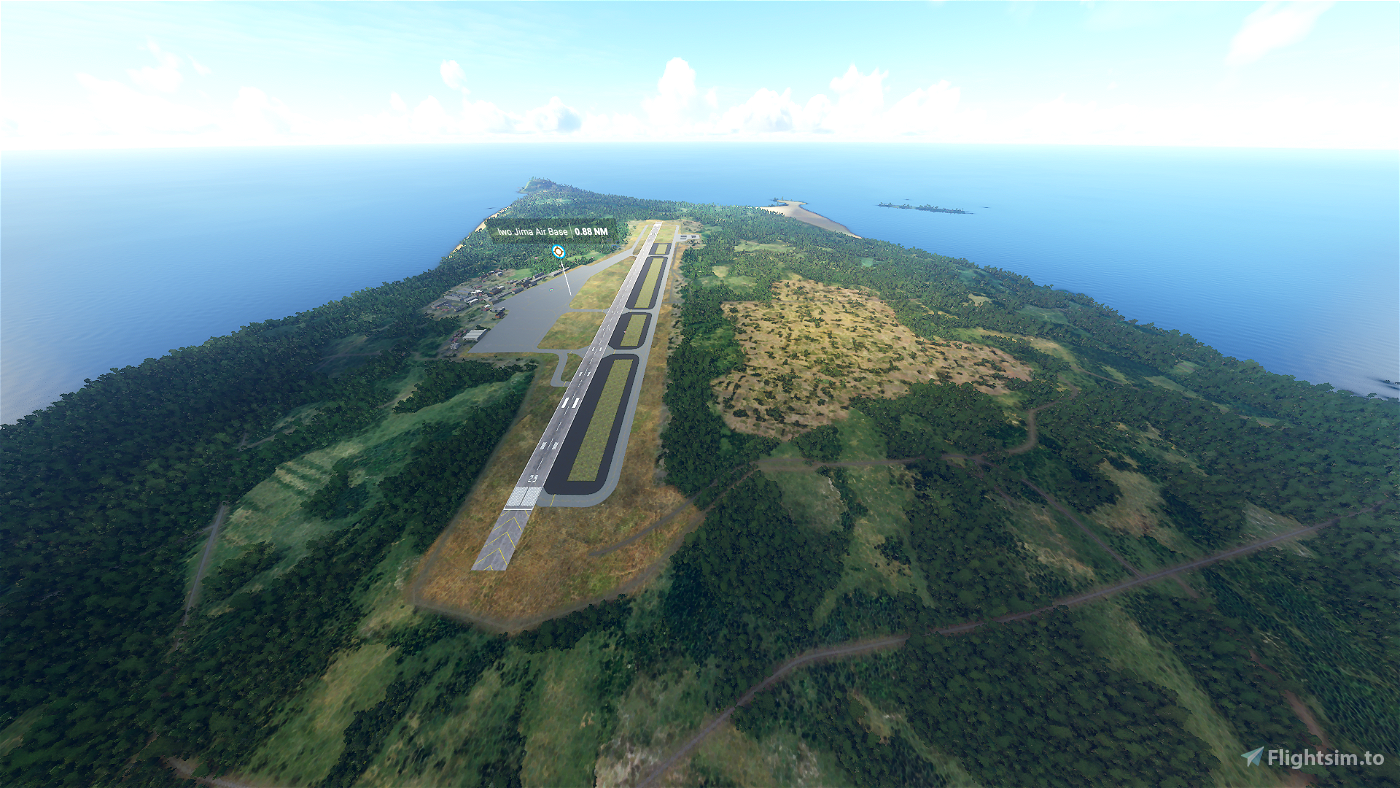 Iwo Jima Air Base - Iwoto Airport  [RJAW]