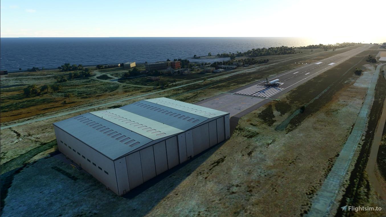 Italia - LICD Lampedusa Flight Simulator 2020