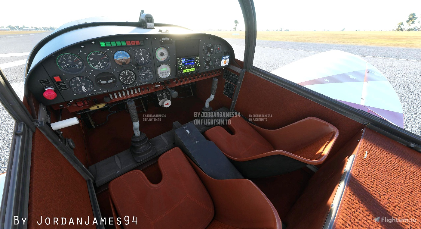 Cap 10 Livery and Cockpit Textures