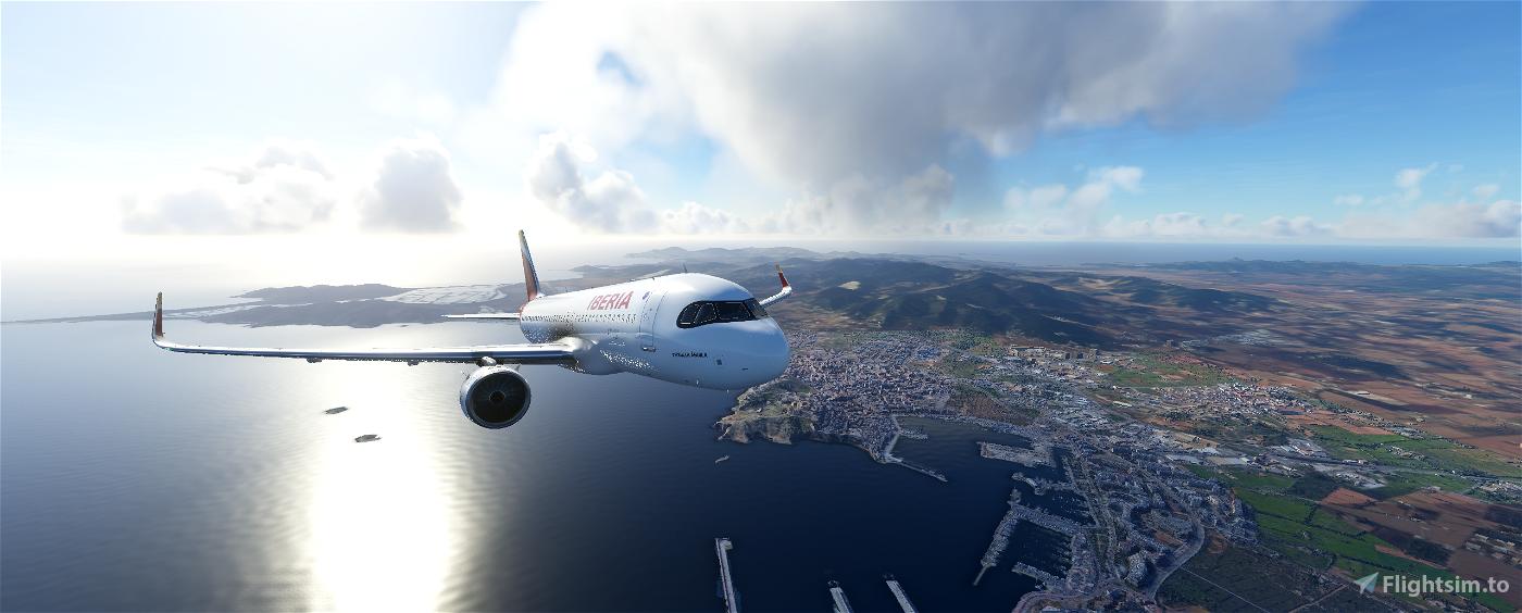 A320neo - IBERIA EC-MXU 'PATRULLA ÁGUILA' Flight Simulator 2020