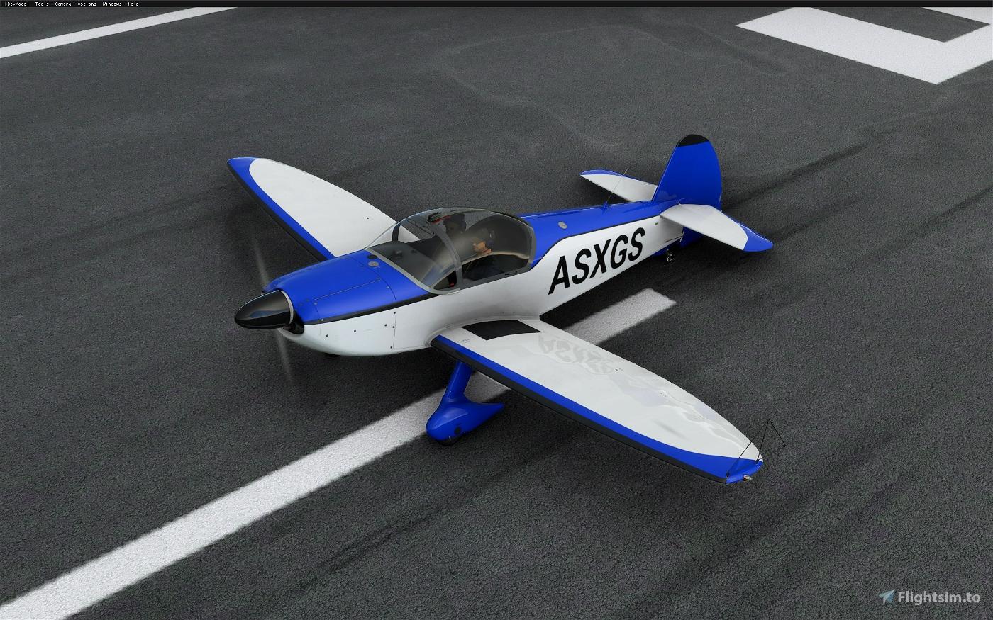Robin CAP 10c - Simple (7 colors) Flight Simulator 2020