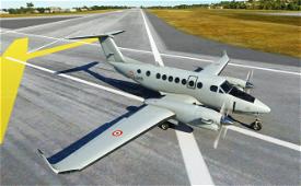 KingAir350 CAE Aviation/French Air Force F-GYEE Image Flight Simulator 2020