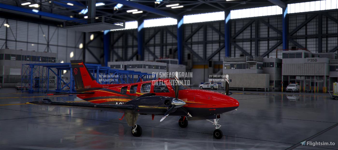 Beechcraft Baron G58 X series (now 9 colours)