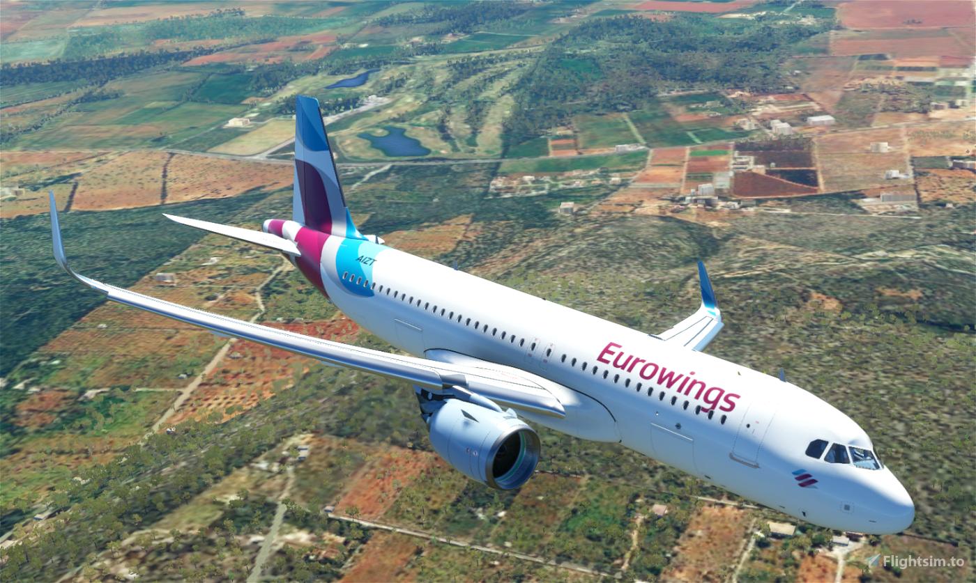 A320neo Eurowings Flight Simulator 2020