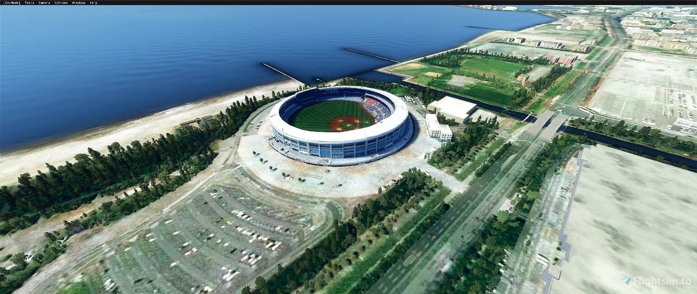ZoZo Marine Stadium, Chiba Japan V1.1 Flight Simulator 2020