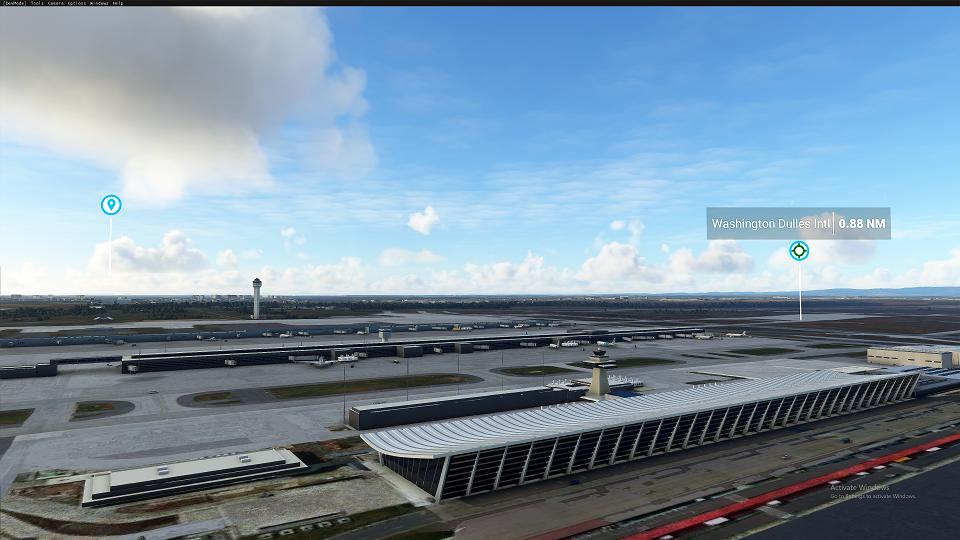 KIAD Washington Dulles International Airport Flight Simulator 2020