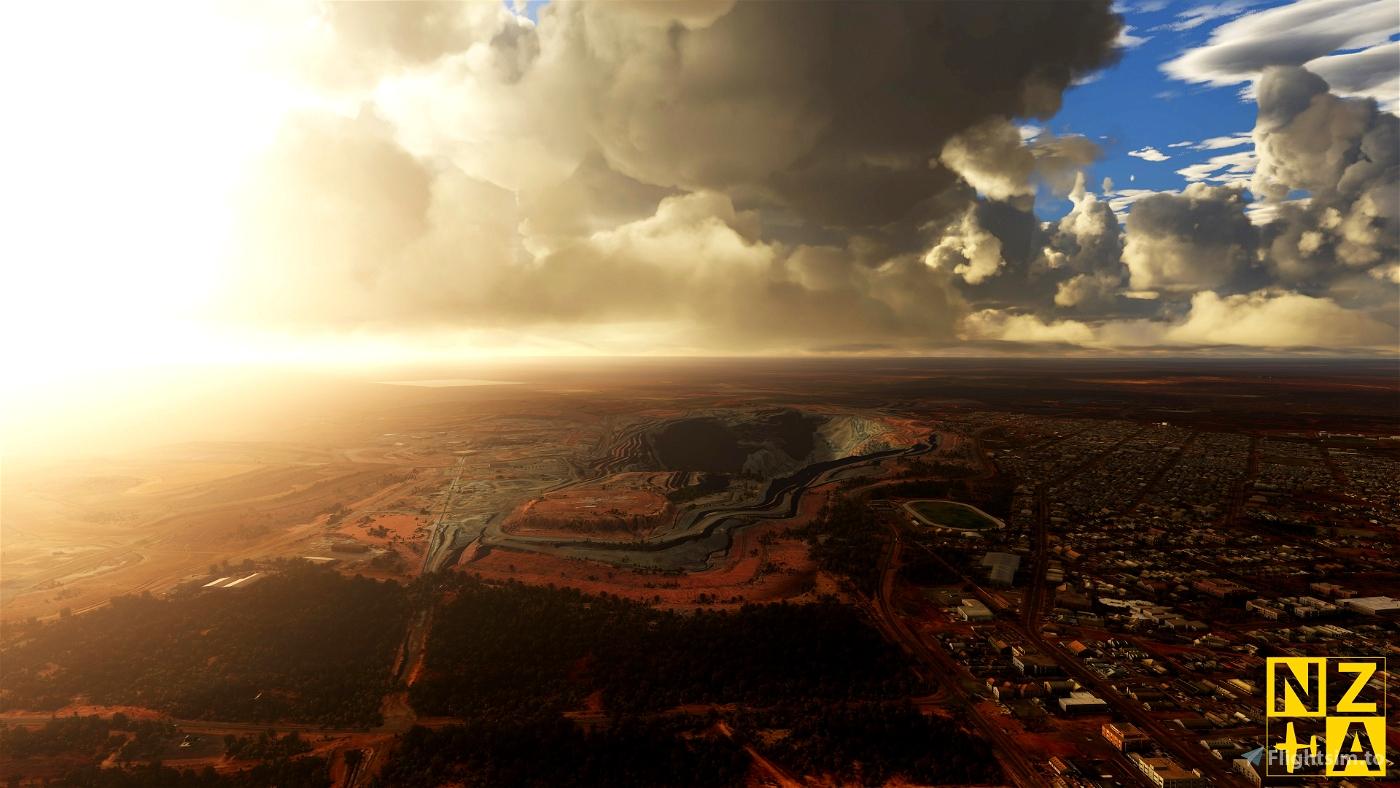 NZA Simulations - YPKG & Kalgoorlie-Boulder Scenery Pack 1.0