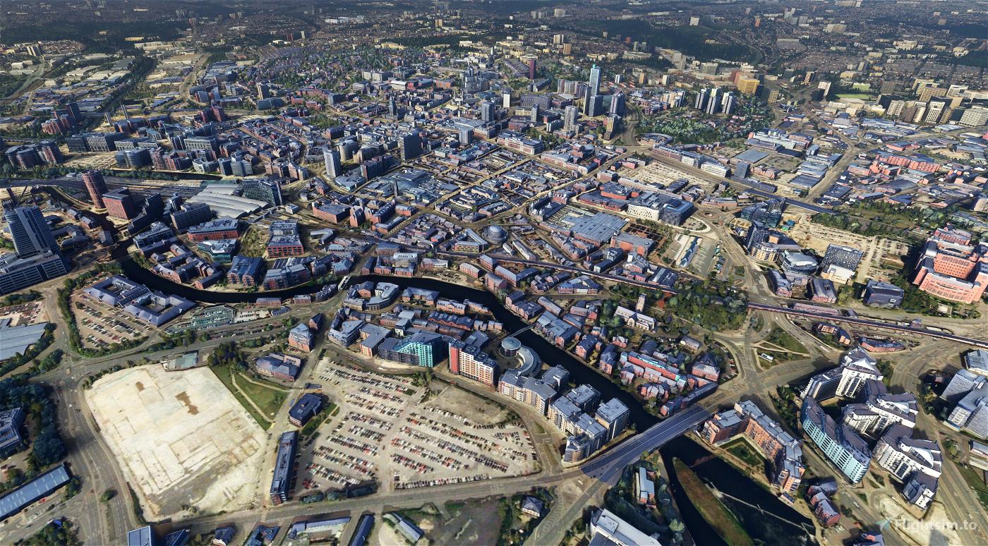 Leeds City Centre Photogrammetry, England