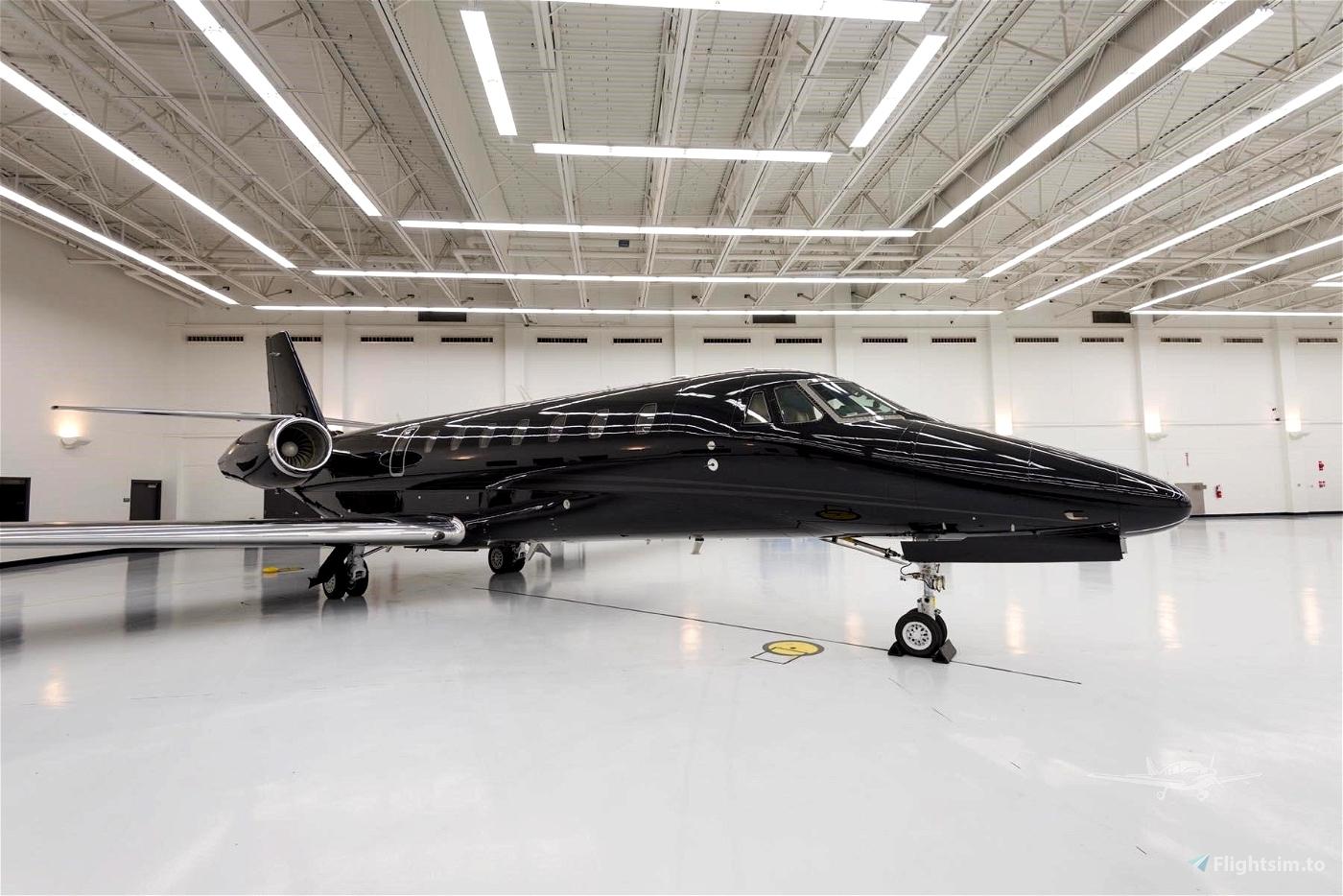Cessna longitude Bullet Black Flight Simulator 2020