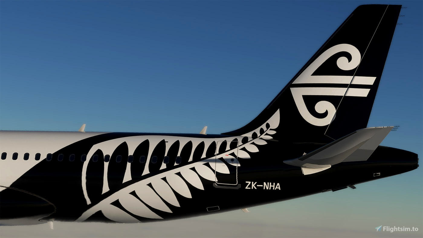 [A32NX] Air New Zealand A320 neo ZK-NHA 8K