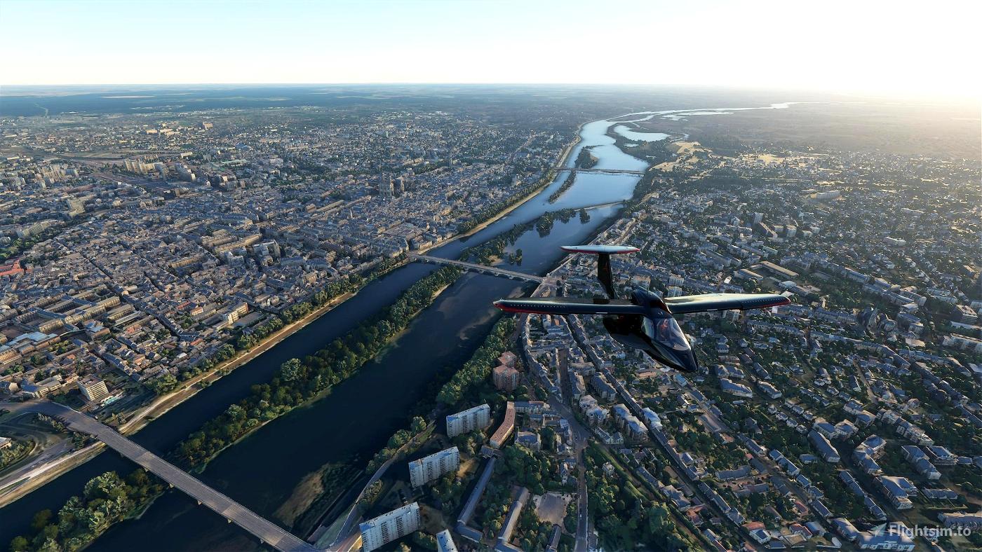 Orléans City Flight Simulator 2020