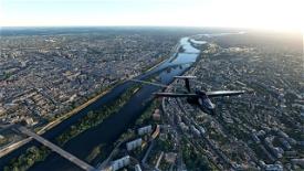 Orléans City Image Flight Simulator 2020