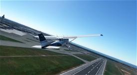 Chase view  Image Flight Simulator 2020