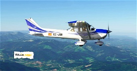 Cessna 172sp as1000 Image Flight Simulator 2020