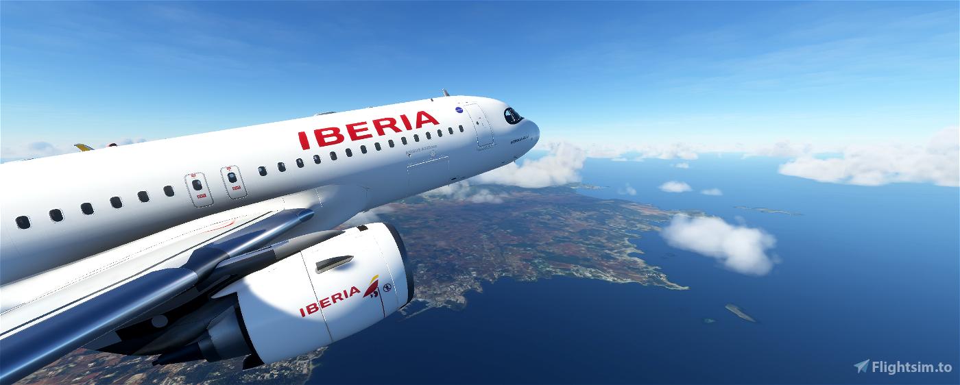 A320neo - IBERIA EC-MXU 'PATRULLA ÁGUILA'