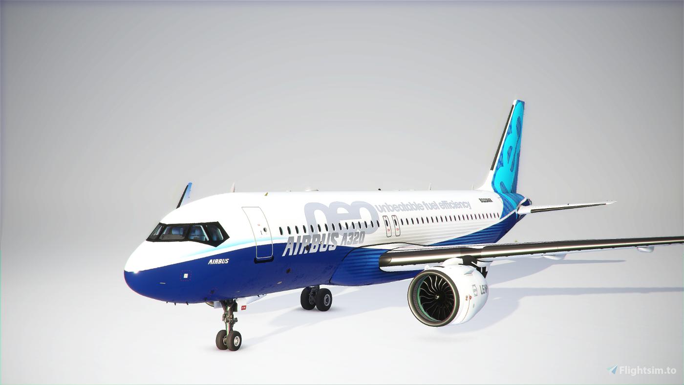 Boeing A320 MAX / Airbus 737 neo Flight Simulator 2020