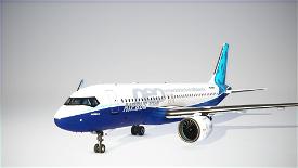 Boeing A320 MAX / Airbus 737 neo Image Flight Simulator 2020