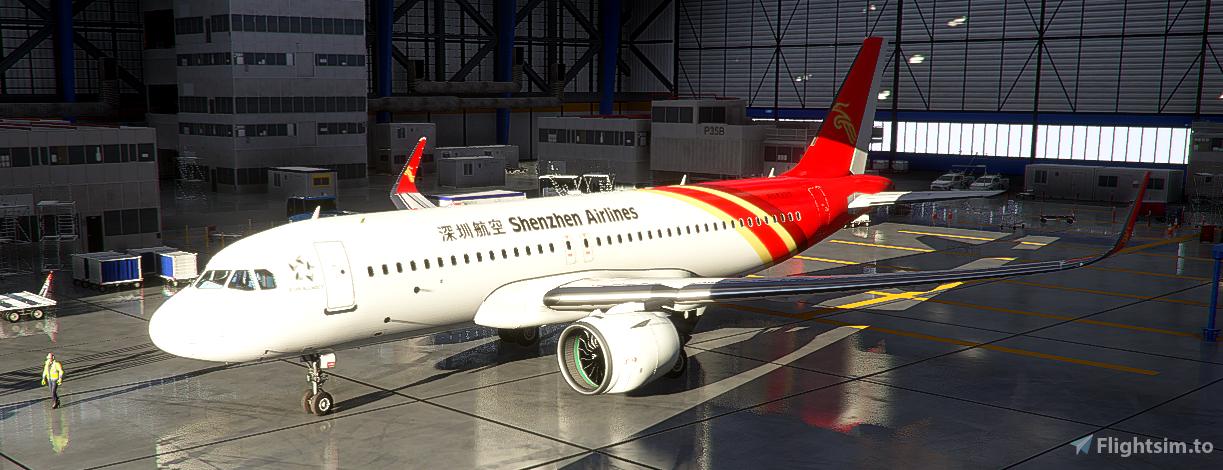 AGSZ A320neo Flight Simulator 2020