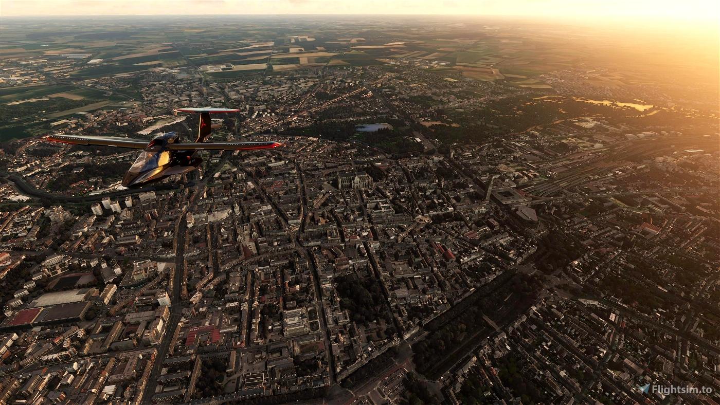 Amiens City Flight Simulator 2020