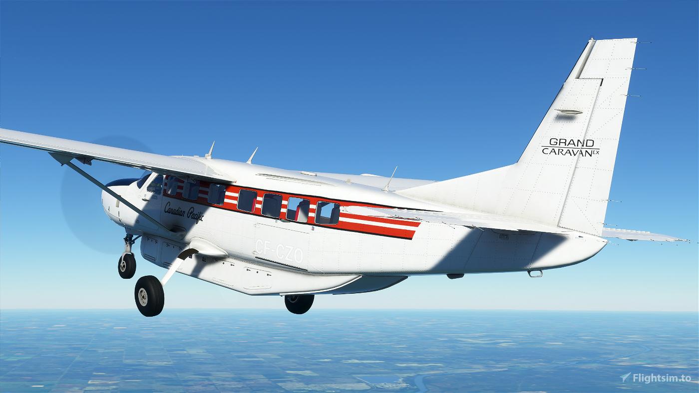 Canadian Pacific Cessna 208b Grand Caravan EX Livery