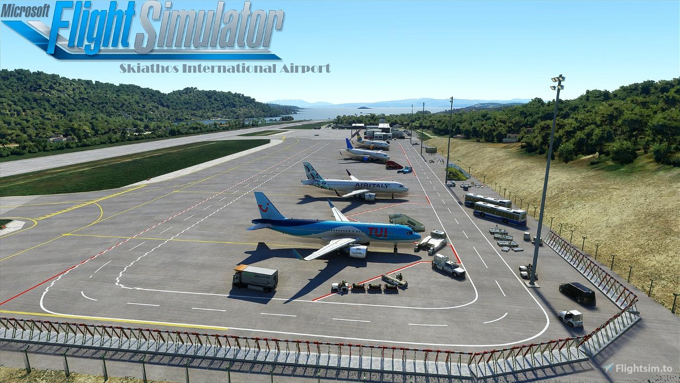 Skiathos International Airport (LGSK) Flight Simulator 2020