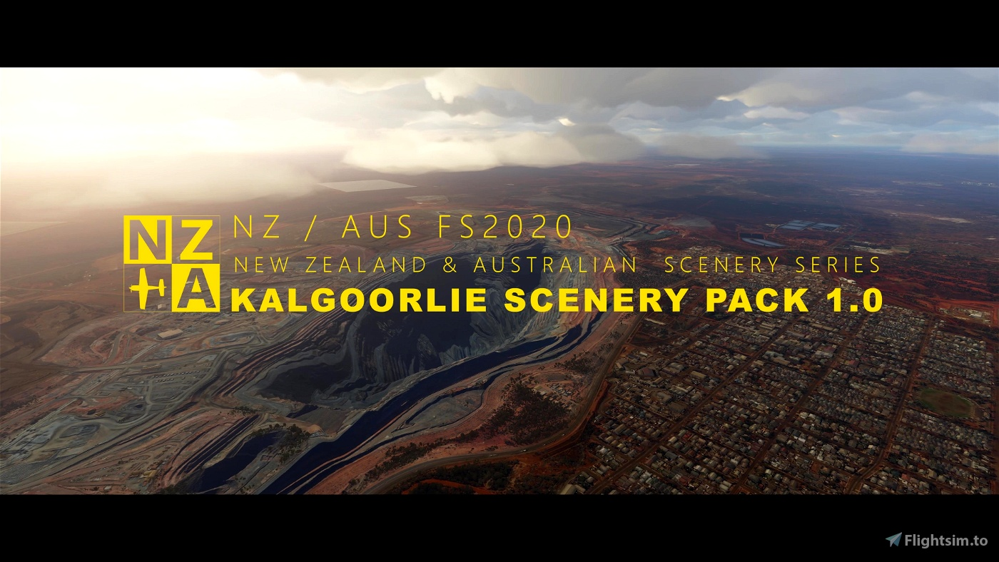 NZA Simulations - YPKG & Kalgoorlie-Boulder Scenery Pack 1.0 Flight Simulator 2020