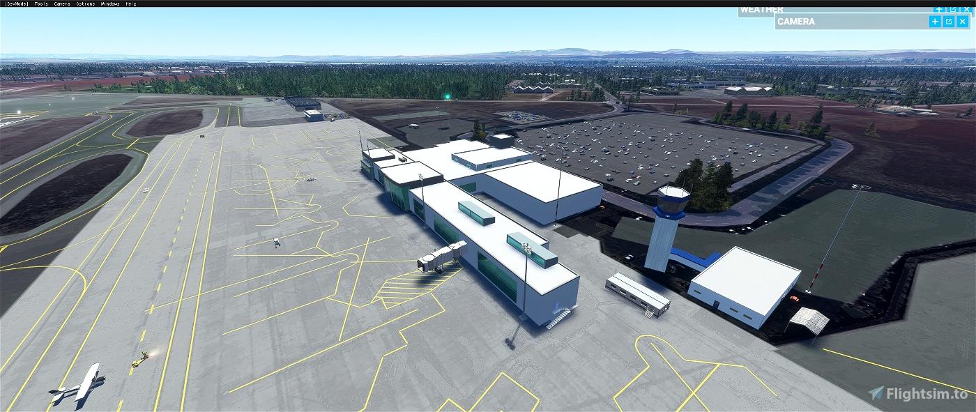 Tri-Cities Airport, Pasco WA USA - KPSC V1.1 Flight Simulator 2020