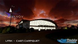 LFRK - CAEN Carpiquet V1.21 Image Flight Simulator 2020