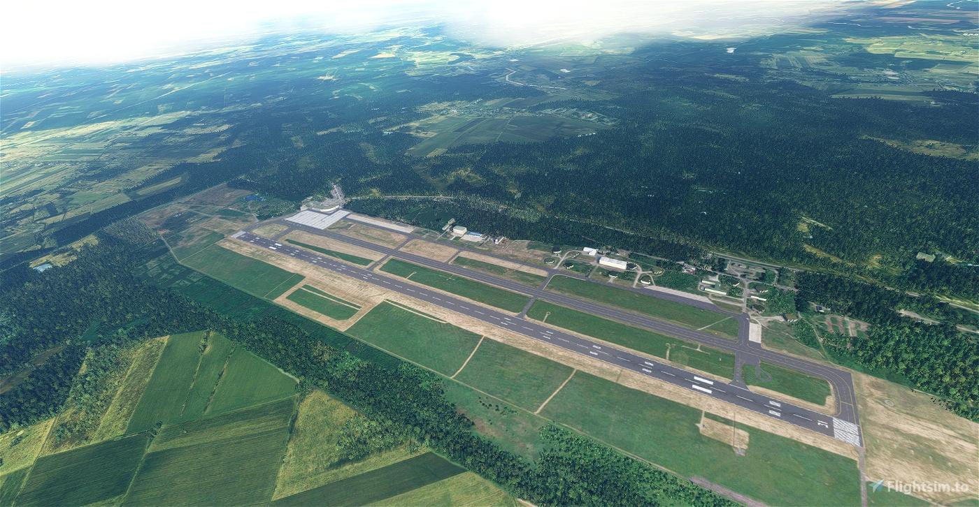 Szczecin Goleniów airport EPSC