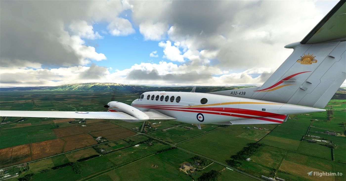 Australian Army King Air 350 A32-439 Flight Simulator 2020