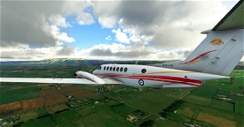 Australian Army King Air 350 A32-439 Image Flight Simulator 2020