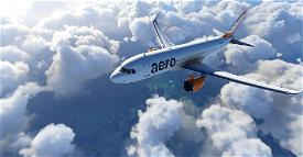 A320 Aero Contractors | 4K Image Flight Simulator 2020