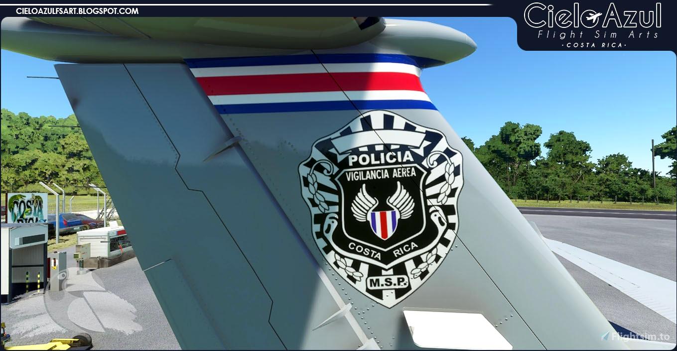 Costa Rica Police | MSP002 | Asobo Beechcraft King Air 350i (8K)