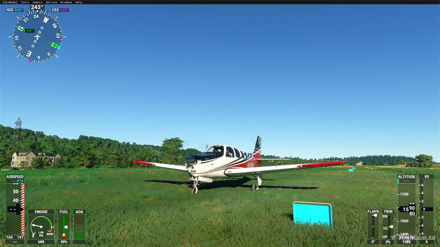 Swiss Airfields Flight Simulator 2020