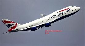 British Airways Pilot Commands Voice and Safety Brief Image Flight Simulator 2020